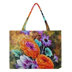 Flowers Artwork Art Digital Art Medium Tote Bag