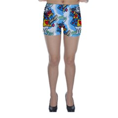 Seamless Repeating Tiling Tileable Skinny Shorts