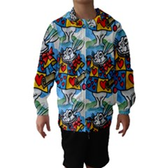 Seamless Repeating Tiling Tileable Hooded Wind Breaker (kids)