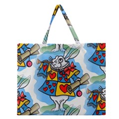 Seamless Repeating Tiling Tileable Zipper Large Tote Bag