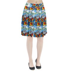 Seamless Repeating Tiling Tileable Pleated Skirt