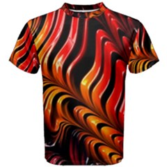 Abstract Fractal Mathematics Abstract Men s Cotton Tee