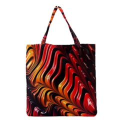 Abstract Fractal Mathematics Abstract Grocery Tote Bag
