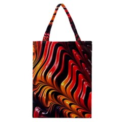 Abstract Fractal Mathematics Abstract Classic Tote Bag