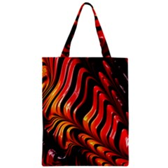 Abstract Fractal Mathematics Abstract Zipper Classic Tote Bag