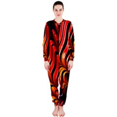 Abstract Fractal Mathematics Abstract Onepiece Jumpsuit (ladies)