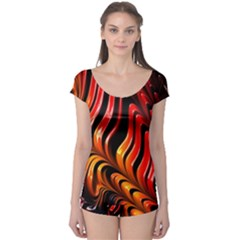 Abstract Fractal Mathematics Abstract Boyleg Leotard