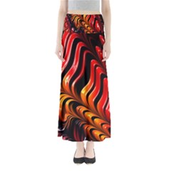 Abstract Fractal Mathematics Abstract Maxi Skirts