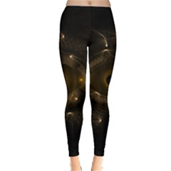 Abstract Fractal Art Artwork Leggings