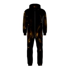 Abstract Fractal Art Artwork Hooded Jumpsuit (kids)