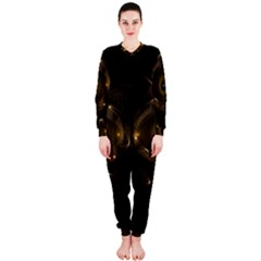 Abstract Fractal Art Artwork Onepiece Jumpsuit (ladies)
