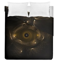 Abstract Fractal Art Artwork Duvet Cover Double Side (queen Size)