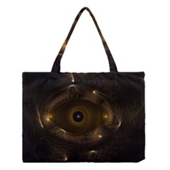 Abstract Fractal Art Artwork Medium Tote Bag