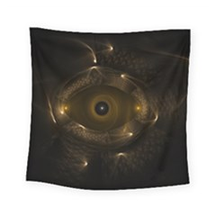 Abstract Fractal Art Artwork Square Tapestry (small)