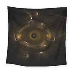 Abstract Fractal Art Artwork Square Tapestry (large)
