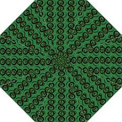 Abstract Pattern Graphic Lines Hook Handle Umbrellas (medium)