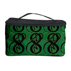 Abstract Pattern Graphic Lines Cosmetic Storage Case