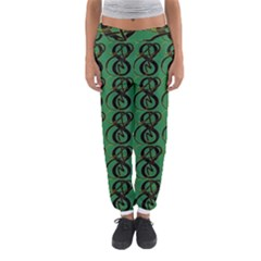 Abstract Pattern Graphic Lines Women s Jogger Sweatpants