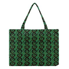 Abstract Pattern Graphic Lines Medium Tote Bag