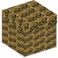 Abstract Swirl Background Wallpaper Storage Stool 12