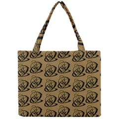 Abstract Swirl Background Wallpaper Mini Tote Bag