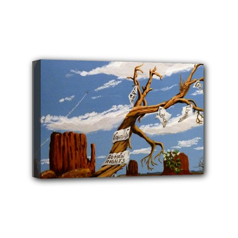 Acrylic Paint Paint Art Modern Art Mini Canvas 6  X 4