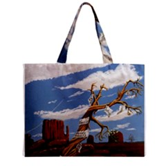 Acrylic Paint Paint Art Modern Art Zipper Mini Tote Bag