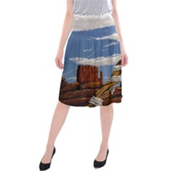 Acrylic Paint Paint Art Modern Art Midi Beach Skirt