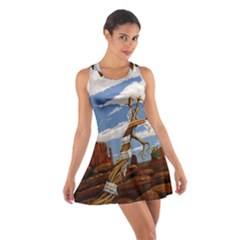 Acrylic Paint Paint Art Modern Art Cotton Racerback Dress