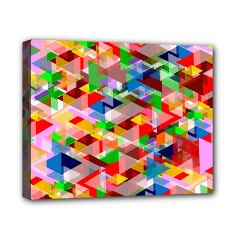 Background Abstract Canvas 10  X 8