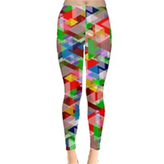 Background Abstract Leggings