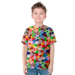 Background Abstract Kids  Cotton Tee