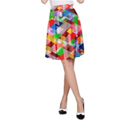 Background Abstract A Line Skirt