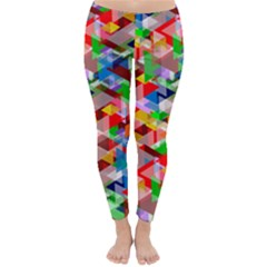 Background Abstract Classic Winter Leggings