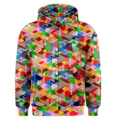 Background Abstract Men s Zipper Hoodie