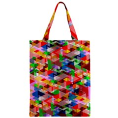 Background Abstract Zipper Classic Tote Bag