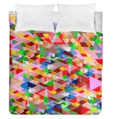 Background Abstract Duvet Cover Double Side (queen Size)