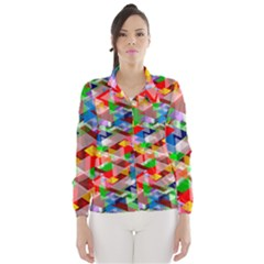 Background Abstract Wind Breaker (women)