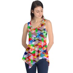 Background Abstract Sleeveless Tunic