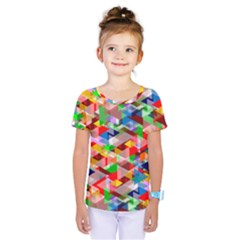 Background Abstract Kids  One Piece Tee