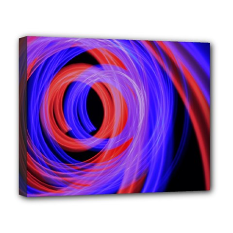 Background Blue Red Deluxe Canvas 20  X 16