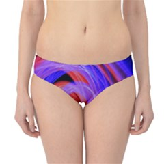 Background Blue Red Hipster Bikini Bottoms