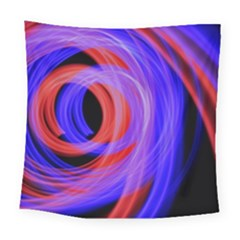 Background Blue Red Square Tapestry (large)