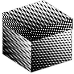 Background Wallpaper Texture Lines Dot Dots Black White Storage Stool 12