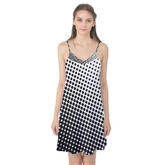 Background Wallpaper Texture Lines Dot Dots Black White Camis Nightgown