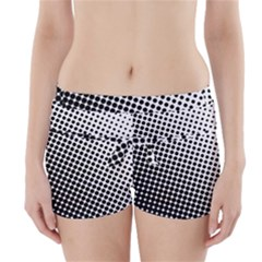 Background Wallpaper Texture Lines Dot Dots Black White Boyleg Bikini Wrap Bottoms