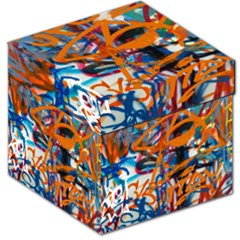 Background Graffiti Grunge Storage Stool 12