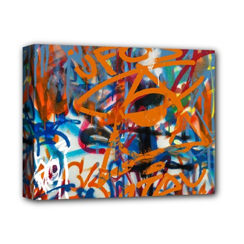 Background Graffiti Grunge Deluxe Canvas 14  X 11