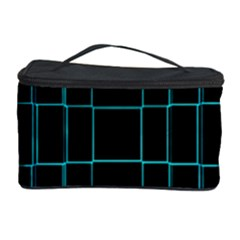 Background Wallpaper Texture Lines Cosmetic Storage Case