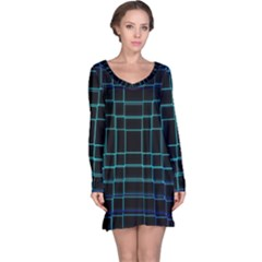 Background Wallpaper Texture Lines Long Sleeve Nightdress
